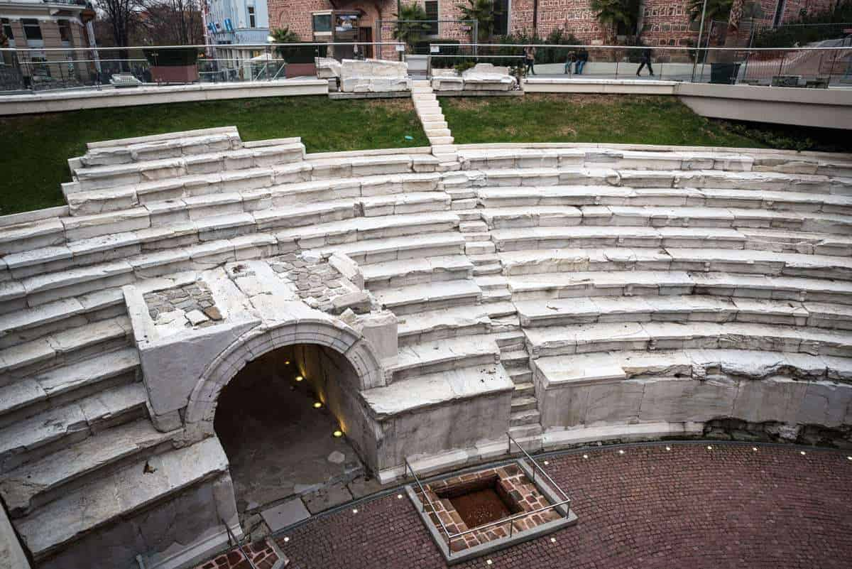Things to do in Plovdiv The Stadium Trimontium -Plovdiv Roman Stadium