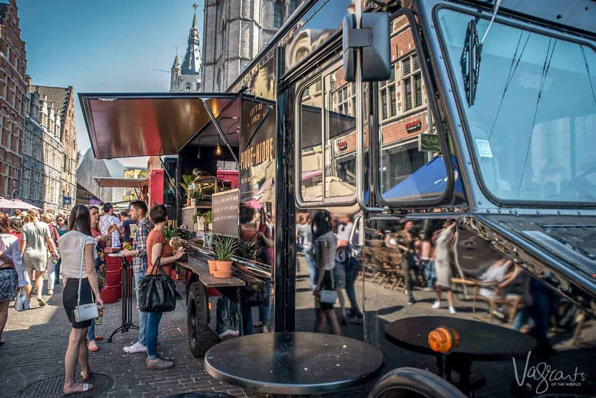 Ghent food truck festival