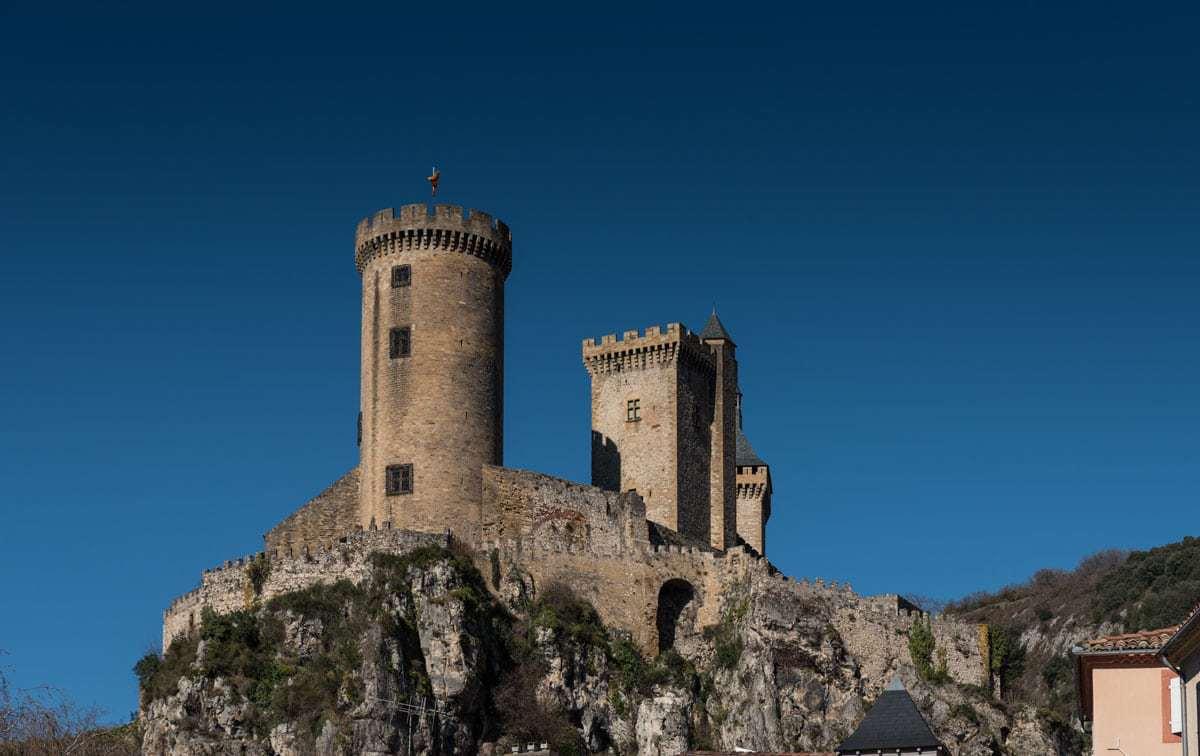 Foix Ariege Midi Pyrenees France