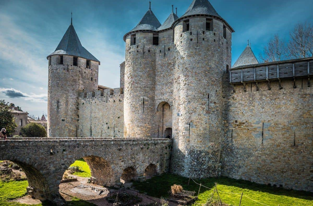 carcassone beautiful castle cite ramparts picturesque. Black Bedroom Furniture Sets. Home Design Ideas