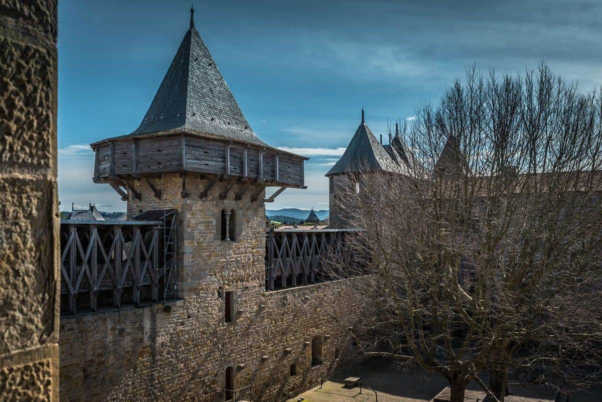 Le Cite de Carcassonne, France