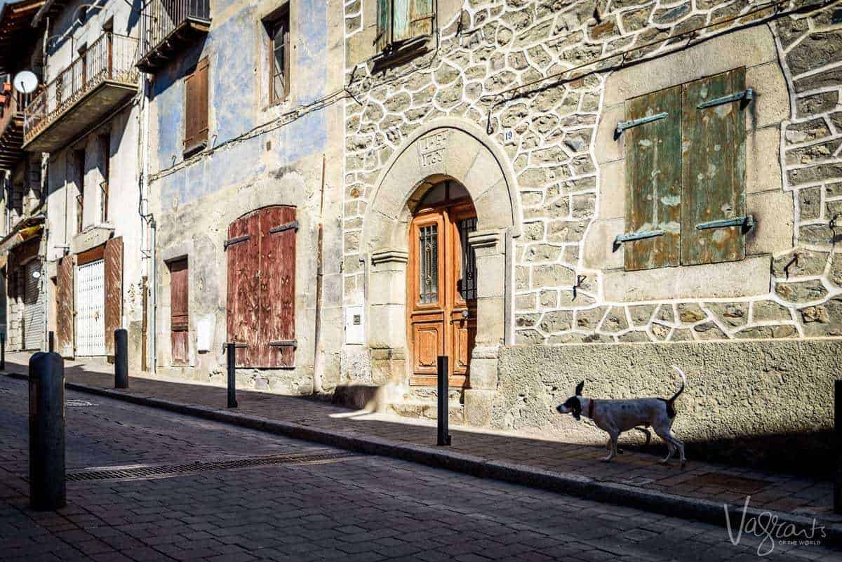Llivia. A Spanish enclave in France