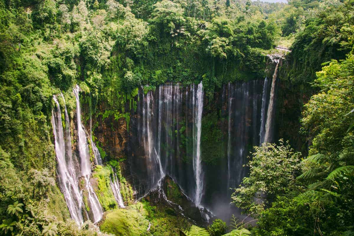 Waterfalls in Malang Indonesia