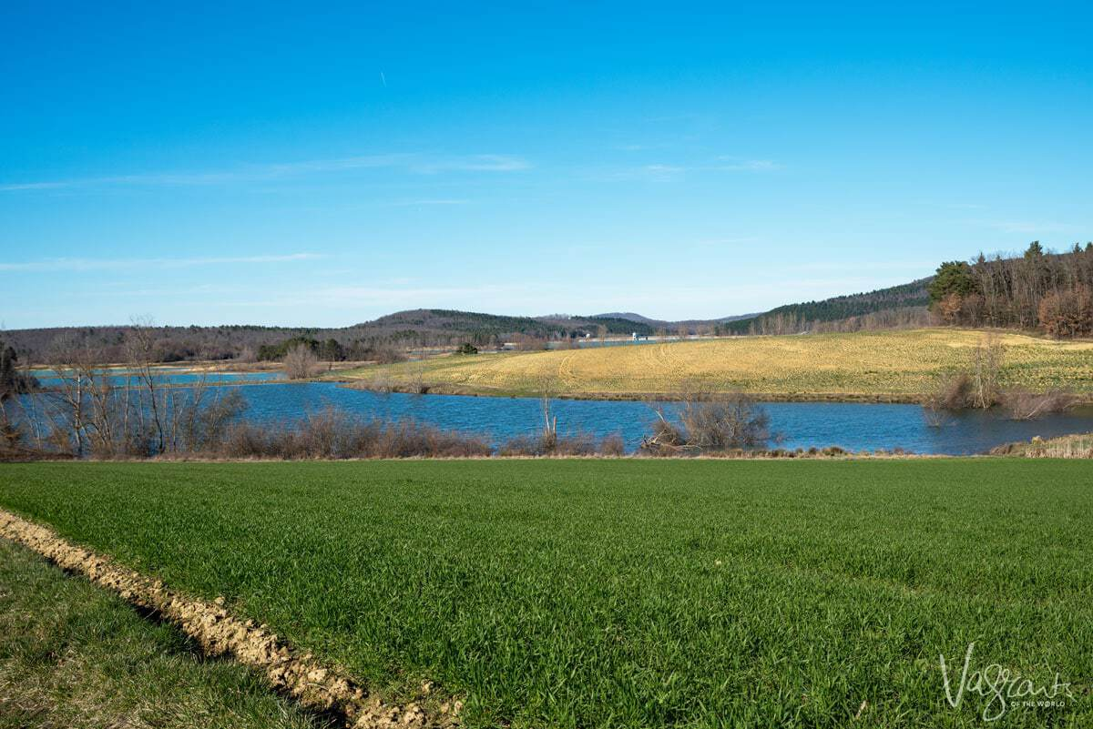 Lake Montbel Ariege France