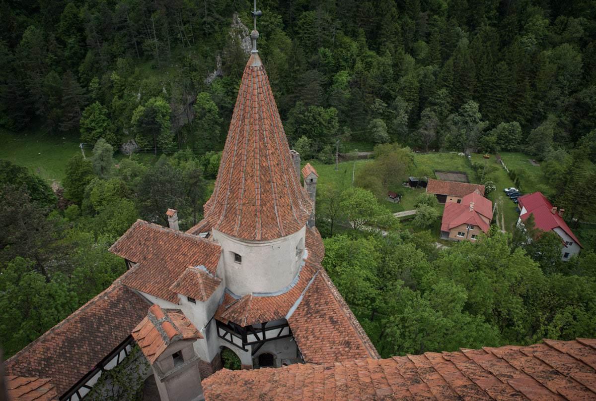 Bran Castle - Bran Transylvania Romania