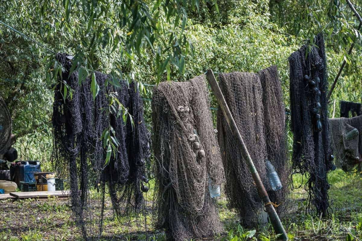 Fishing Nets - Danube Delta Romania