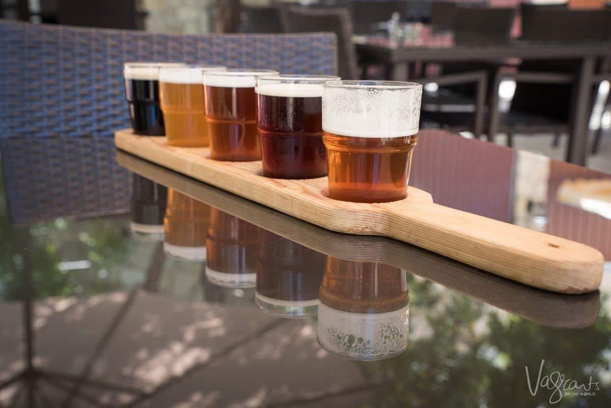 Brewery Tasting board