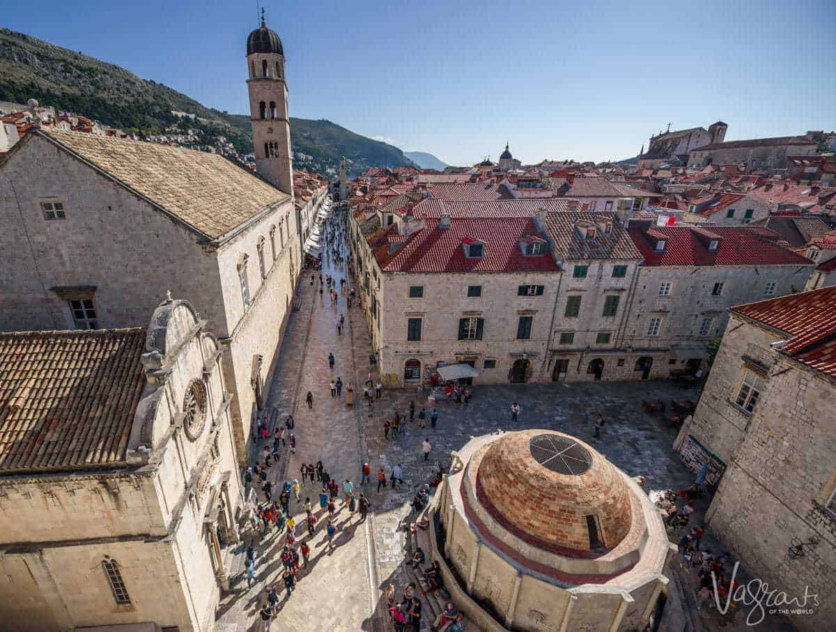 Dubrovnik Old Town From the Ramparts - Photography Tips