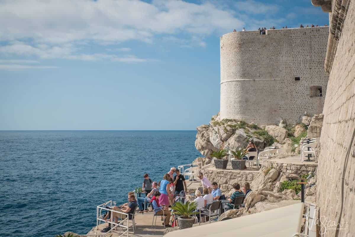 Photography Tips for Dubrovnik - Bars on the western wall