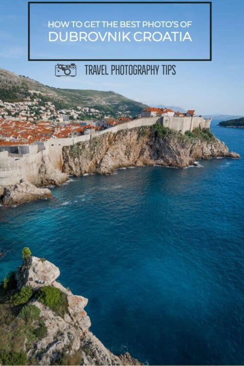 If you are visiting Dubrovnik get the best photo locations before you go. Here are some handy travel photography tips. #dubrovnik #travel #photography #traveltips