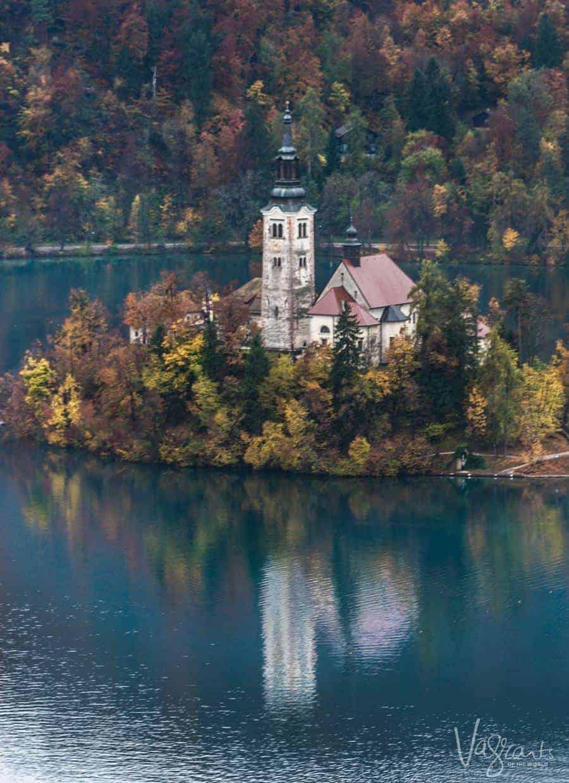 Lake Bled Slovenia. A highlight of our 14 Day Croatia, Dalmatian Isles and Slovenia Tour