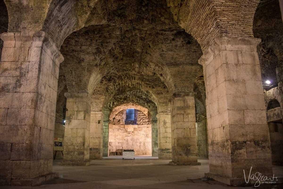 Split Croatia. Diocletians Palace