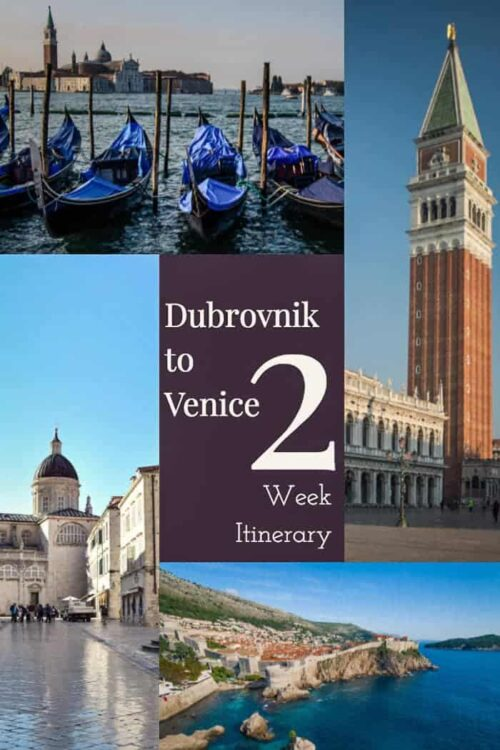Discover the best 2 week Croatia Itinerary from Dubrovnik to Venice