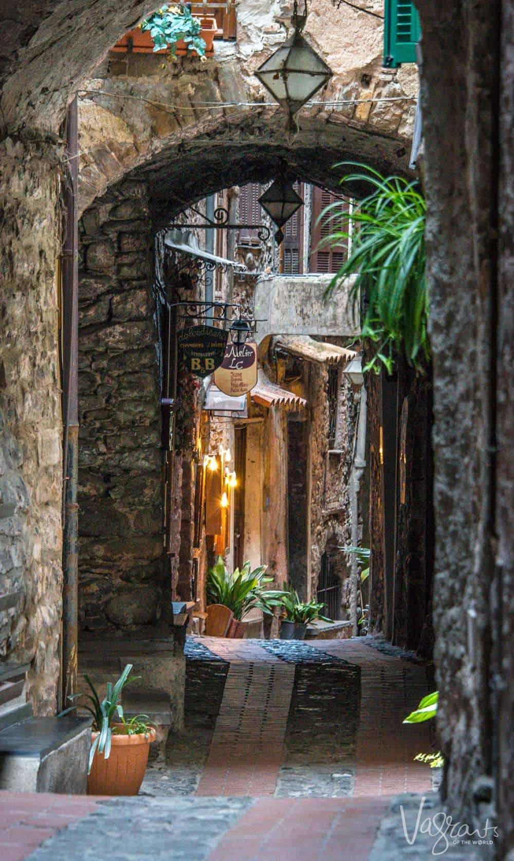 Self catering accommodation near the Ligurian coast Italy