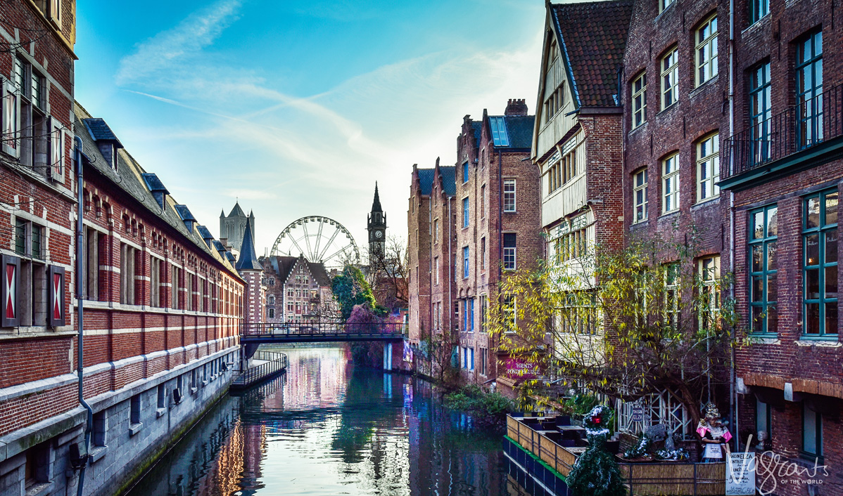 Canals of Ghent Boat Tour