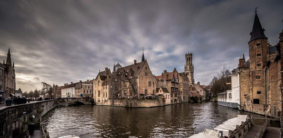 One day in Bruges.