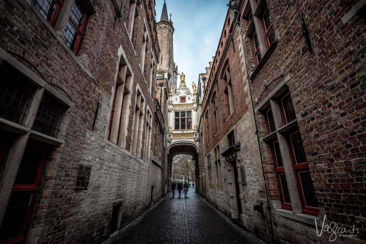 Bruges Old Town.