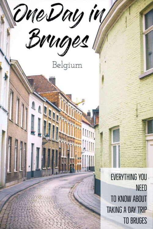 If You're planning a day trip to Bruges Belgium, here are the best things to do in one day in Bruges. #belgium #bruges #travelguide #europetravel
