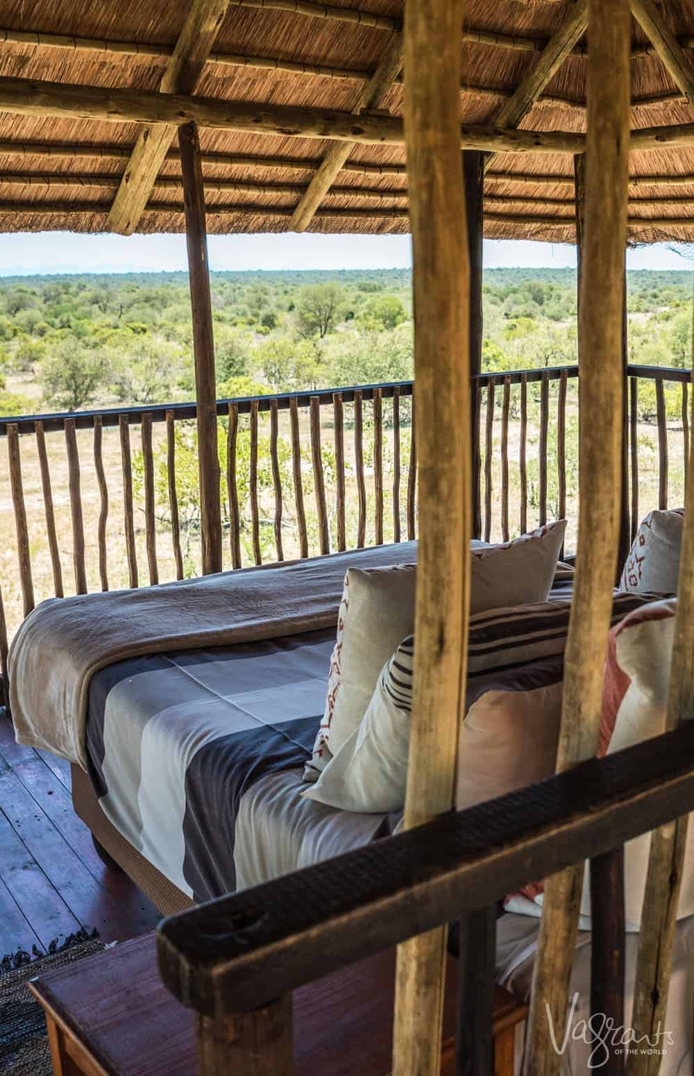 Is this the best safari accommodation ever? From your tree house you can game view from bed!