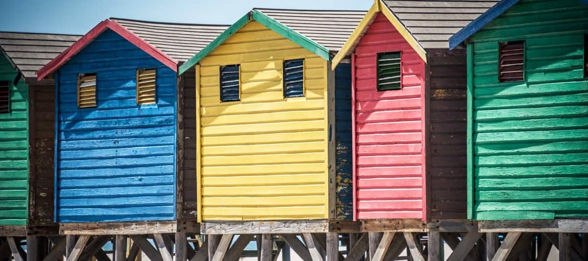 Places to See in Cape Town - Muizenberg Beach