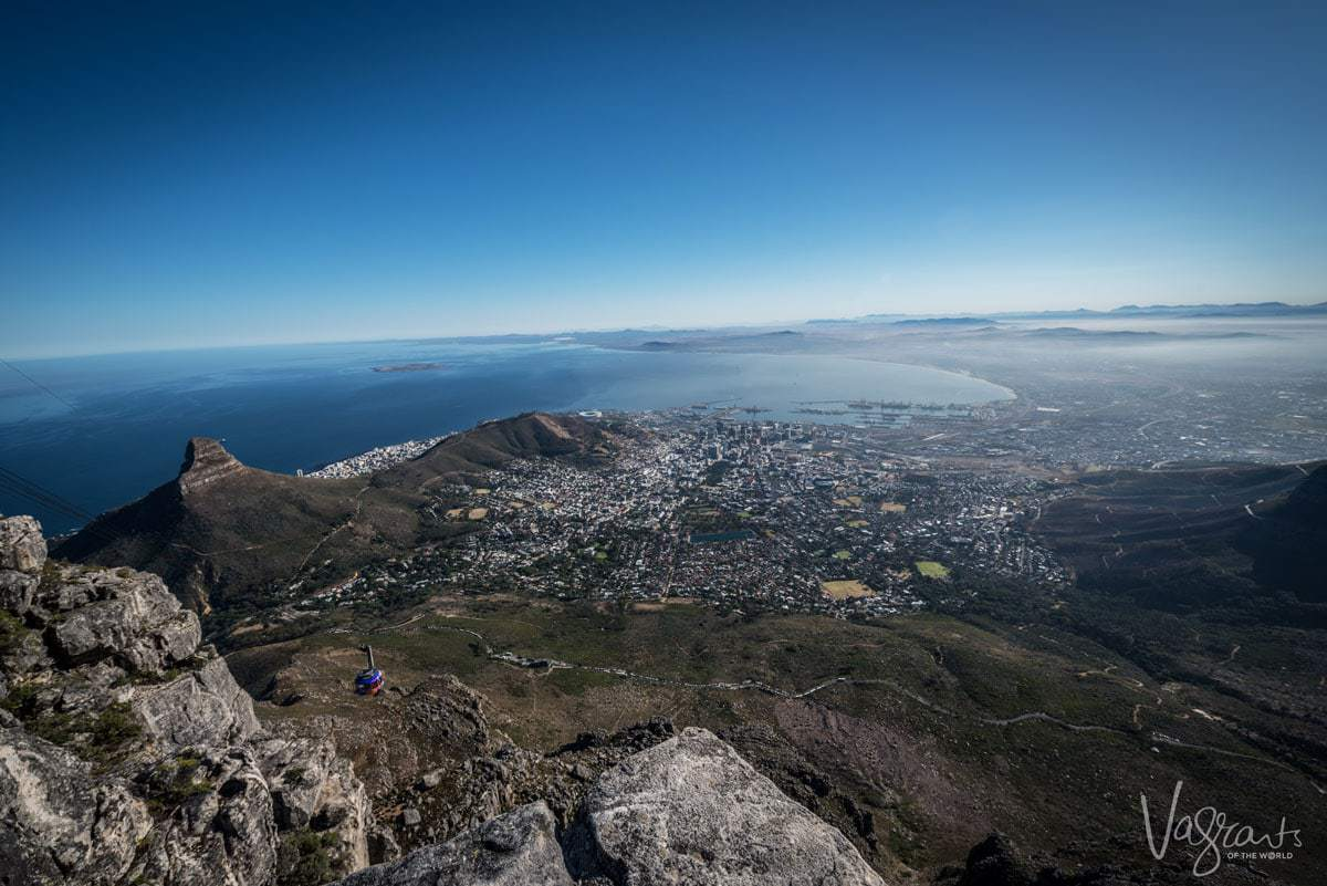 Attractions in Cape Town - Table Mountain