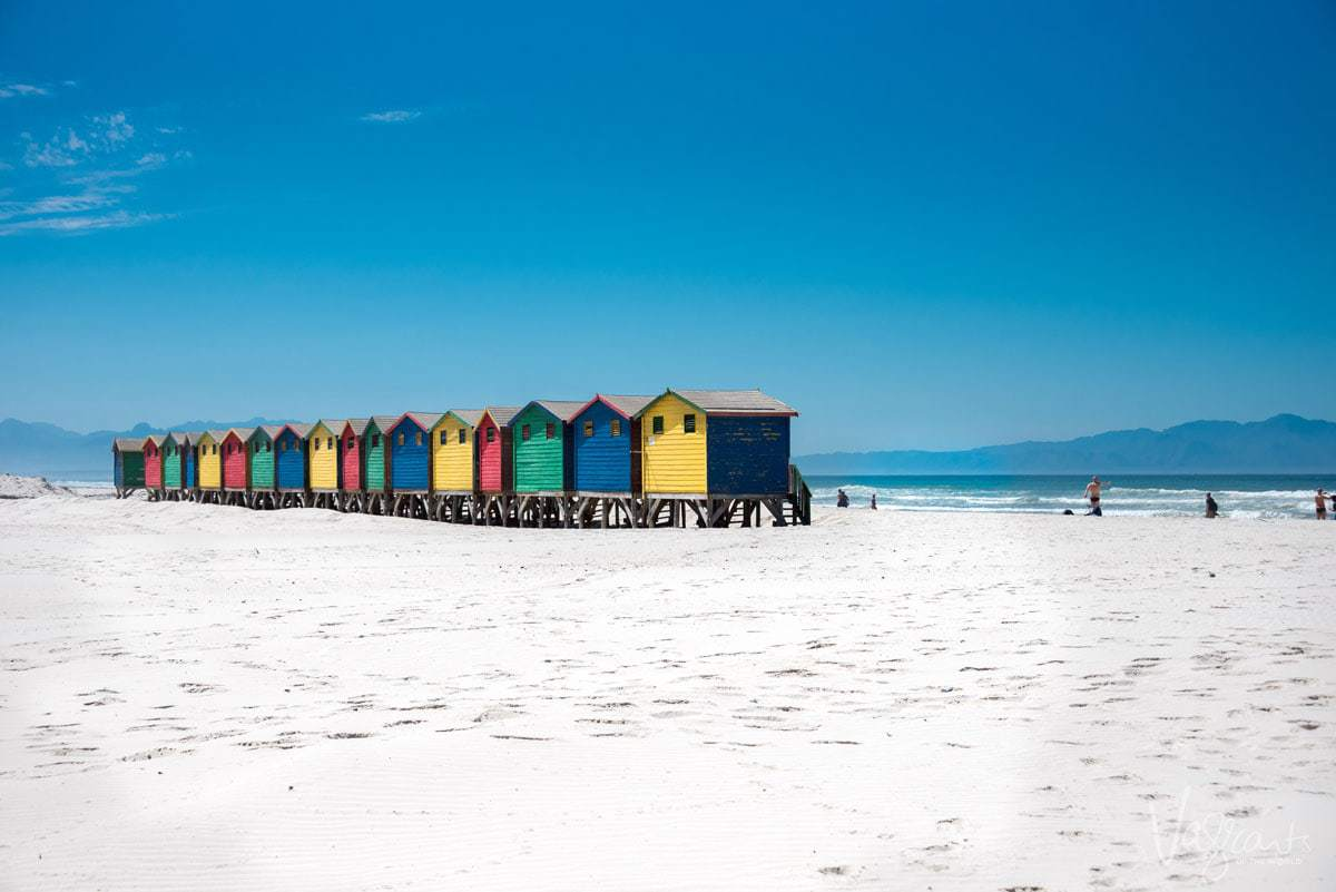 Places to visit near Cape Town - Muizenberg Beach