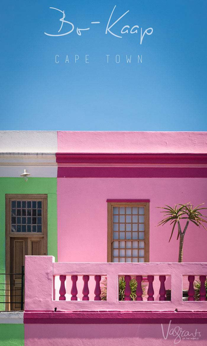 One of the most colourful places to visit in Cape Town - Bo-Kaap