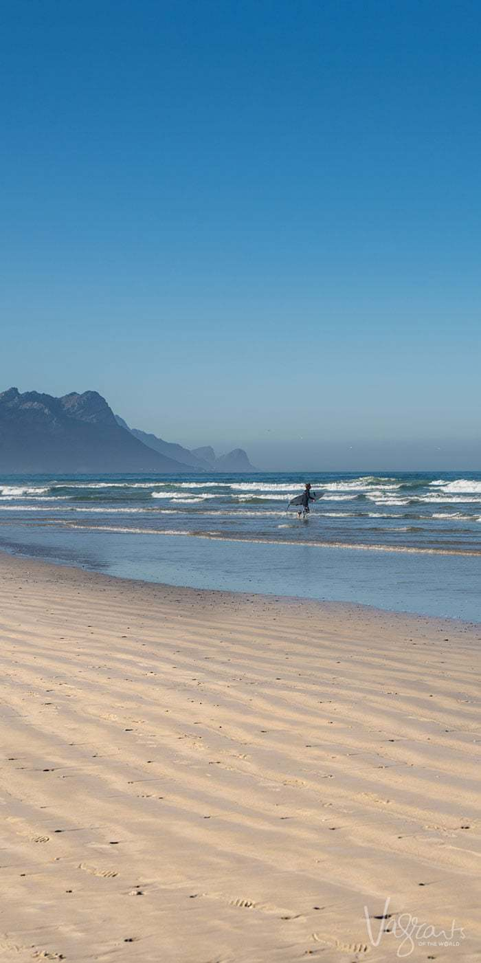 Hitting the beach is a definite must do in Cape Town.