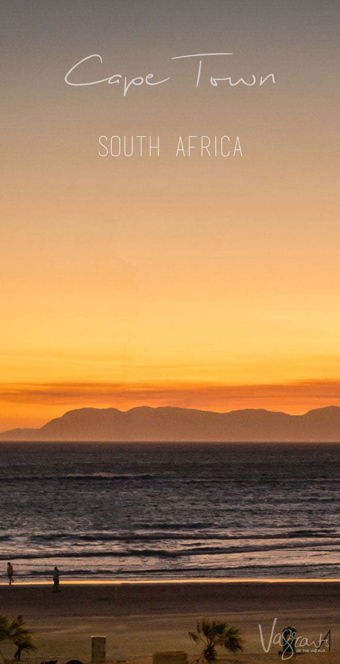One of the best things to do in Cape Town - A sundowner with a view of course!