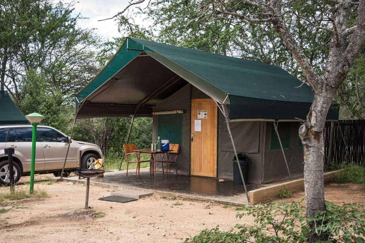 Kruger Park Camps - Skukuza Safari tent