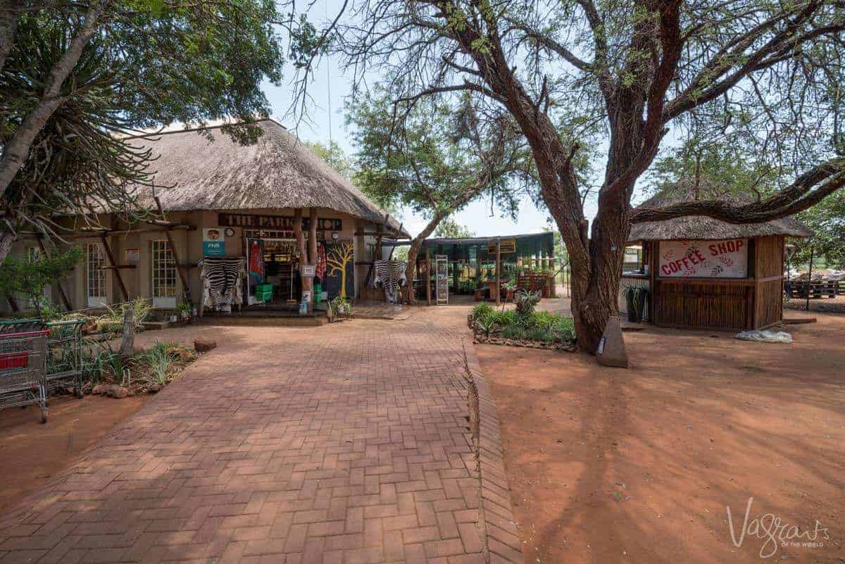 Retail shops in Kruger National Park