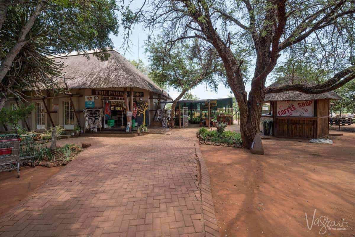 Retail shops in Kruger National Park