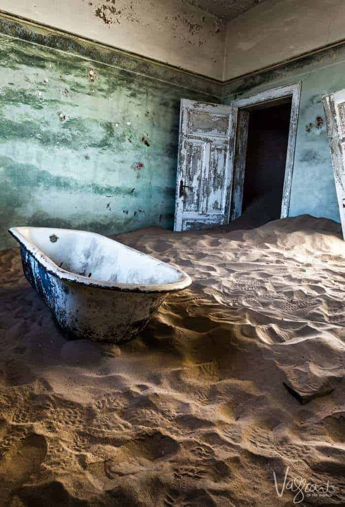 Find out why Kolmanskop Ghost Town in Namibia attracts photographers from all over the world.