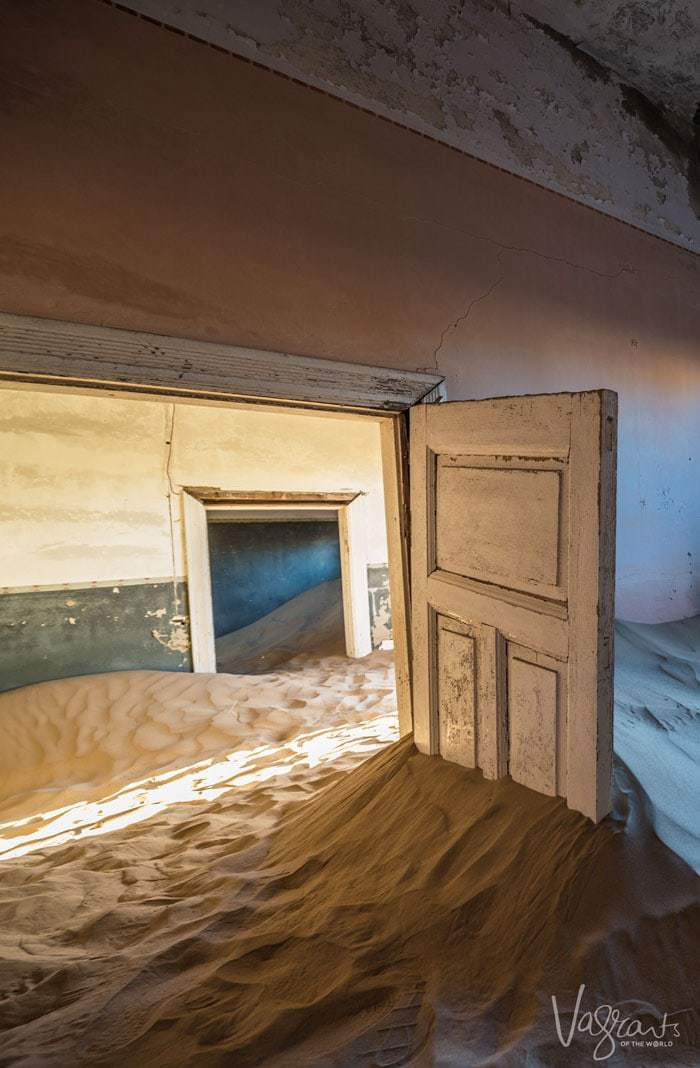 Kolmanskop Ghost Town is Namibia's most famous photographic attraction.