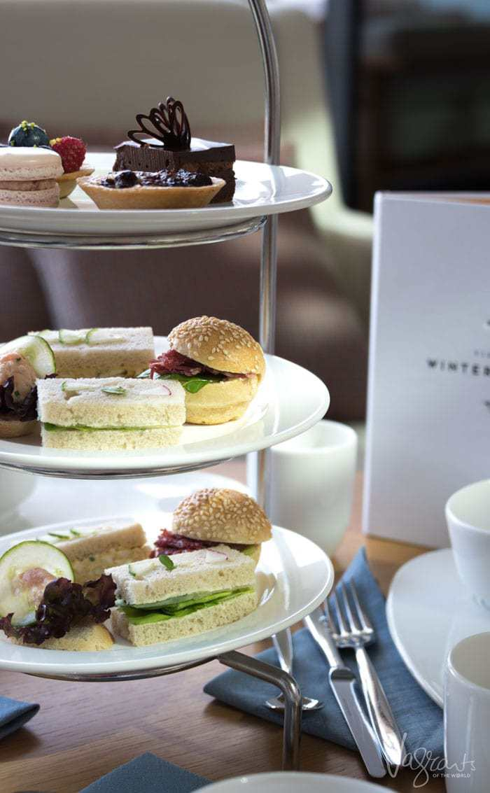 High Tea on the High Sea's. Just one of the delights on board Viking Sea