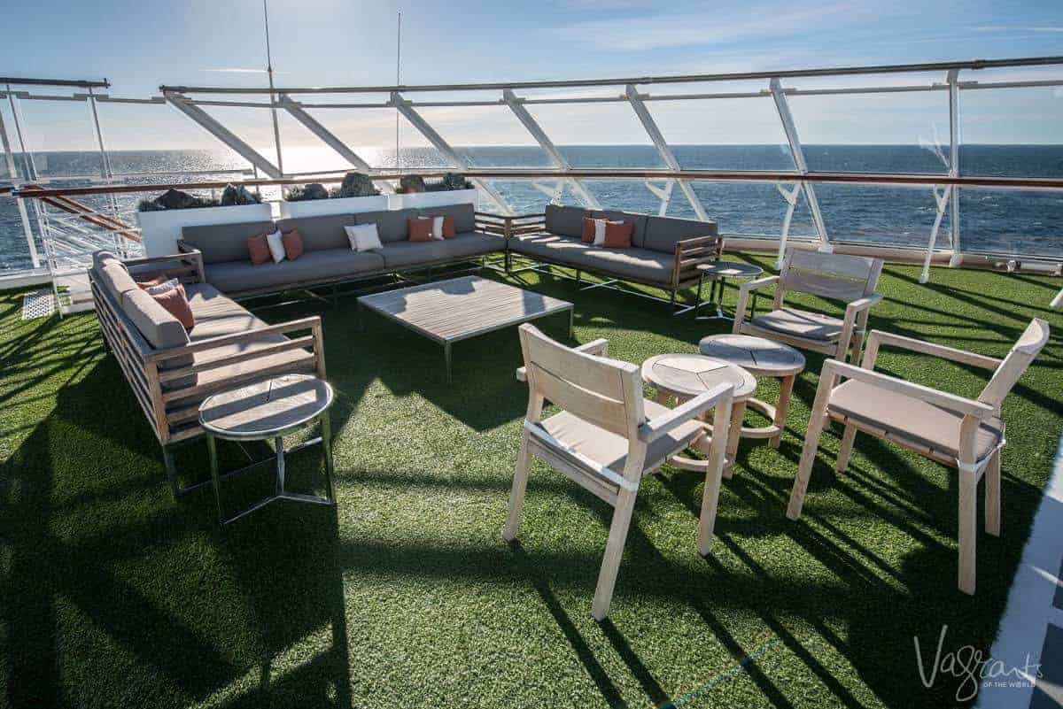 Viking Ocean Cruises - Viking Sea Sports deck