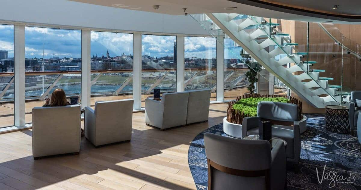 Viking Ocean Cruises - Viking Sea Viking Explorers Lounge