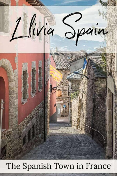 Llivia Spain - Places to visit in Spain. The spanish town in France #spain #france #Llivia