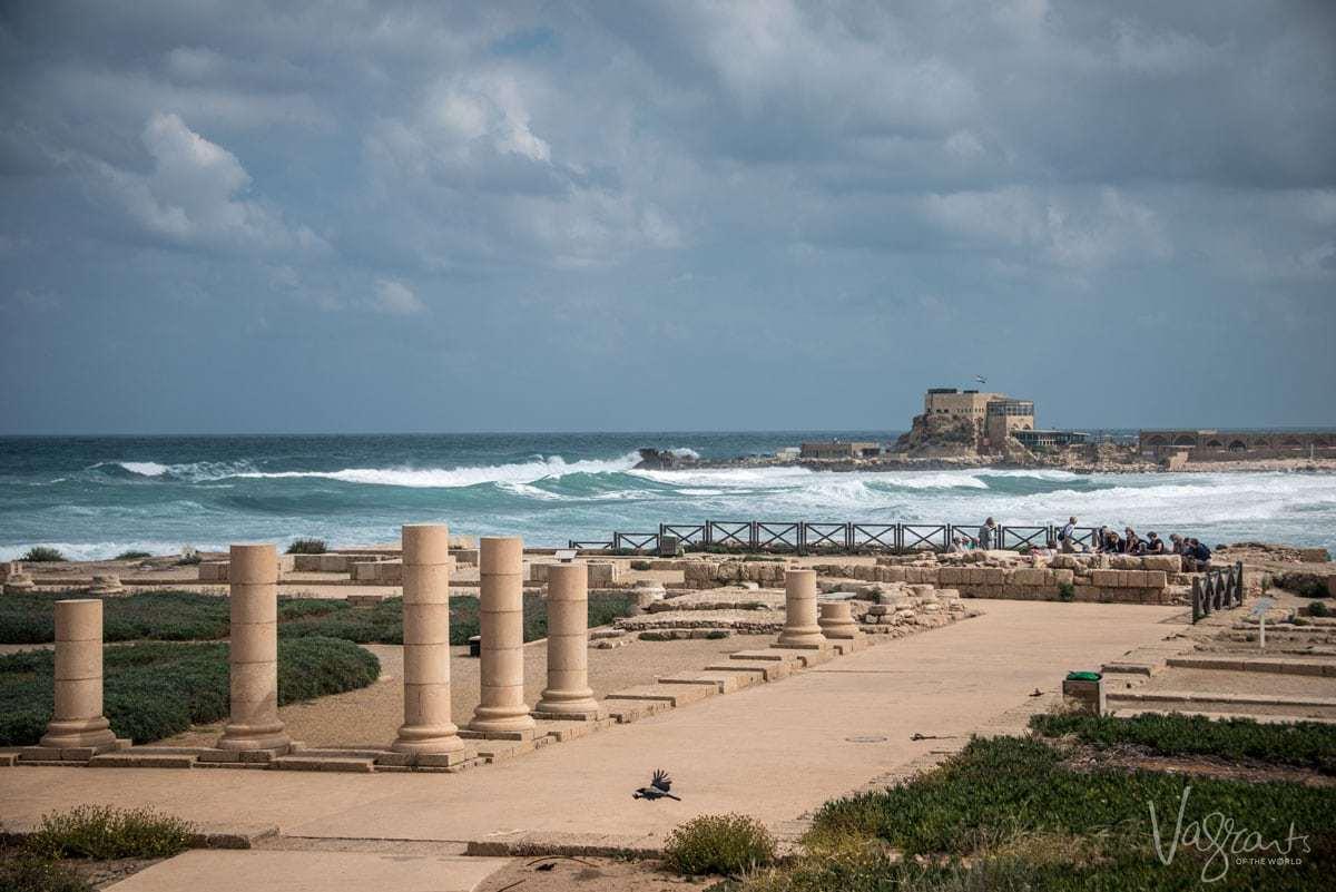 Tours of Israel- Caesarea Harbour Israel