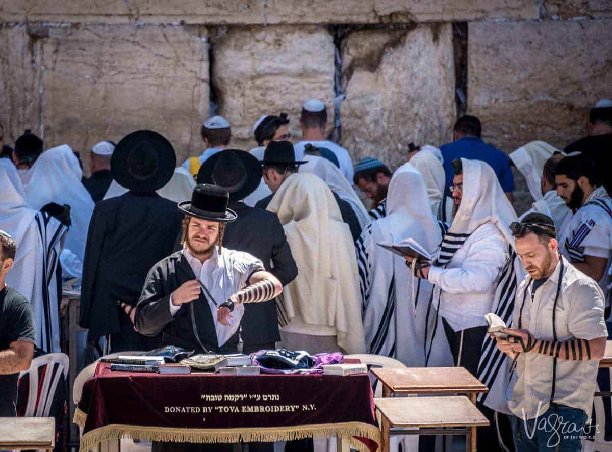 Israel Tours - Jerusalem Prayer time Western Wall