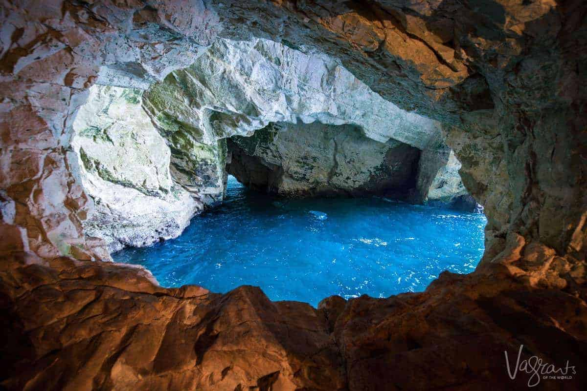 Small Group Tours of Israel - Rosh HaNaikra Grottos