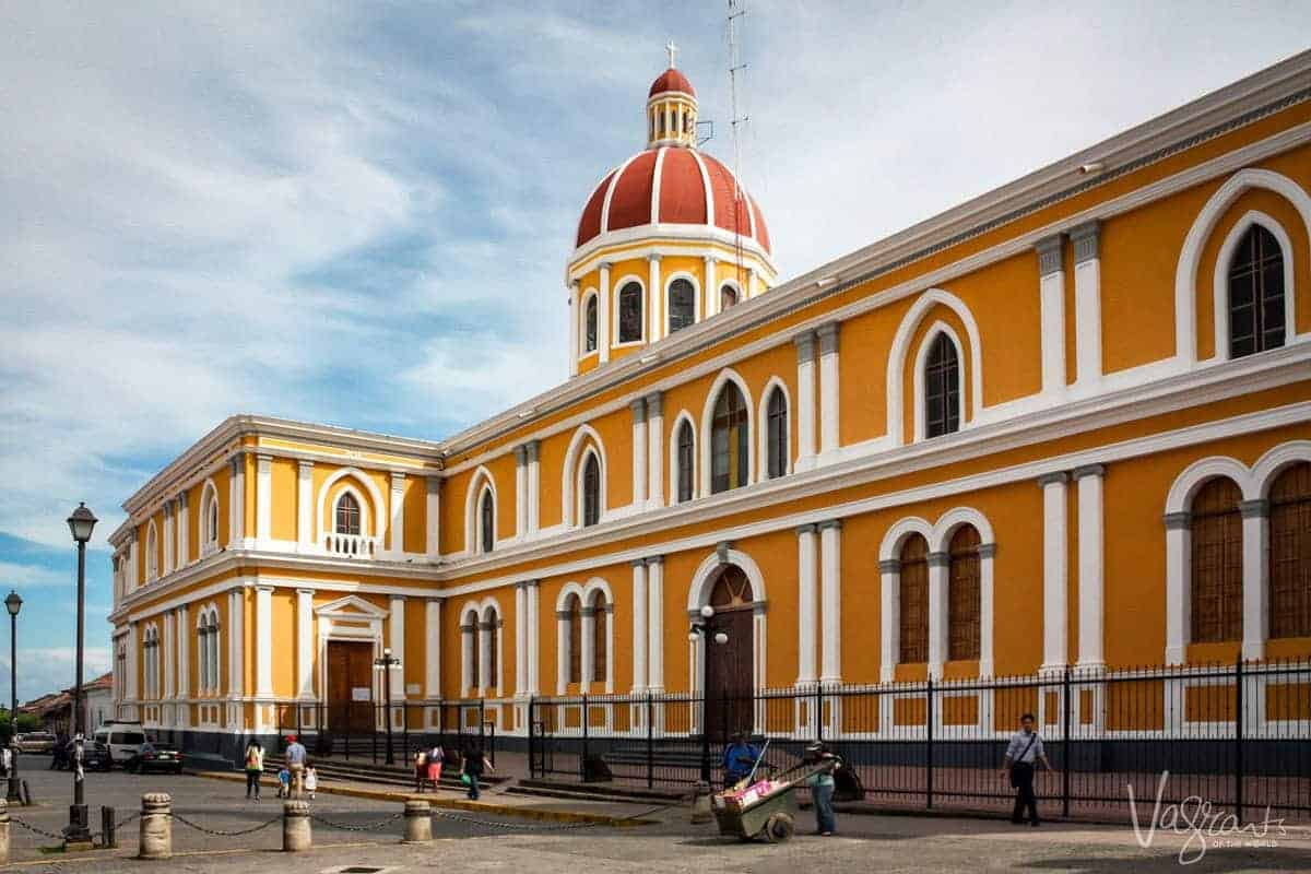 Best things to do in Granada Nicaragua - The Granada cathedral