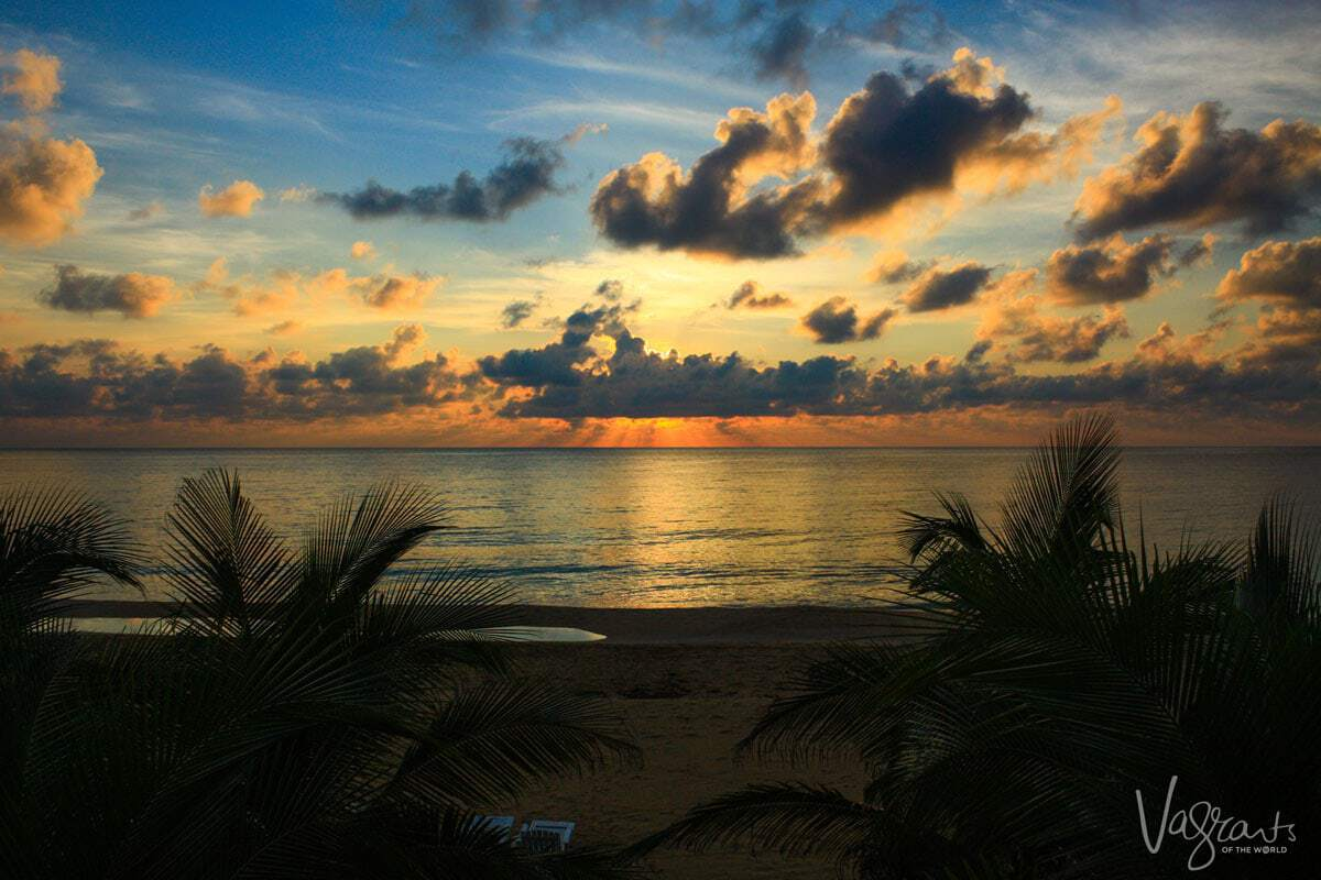Corn Islands Sunset Nicaragua