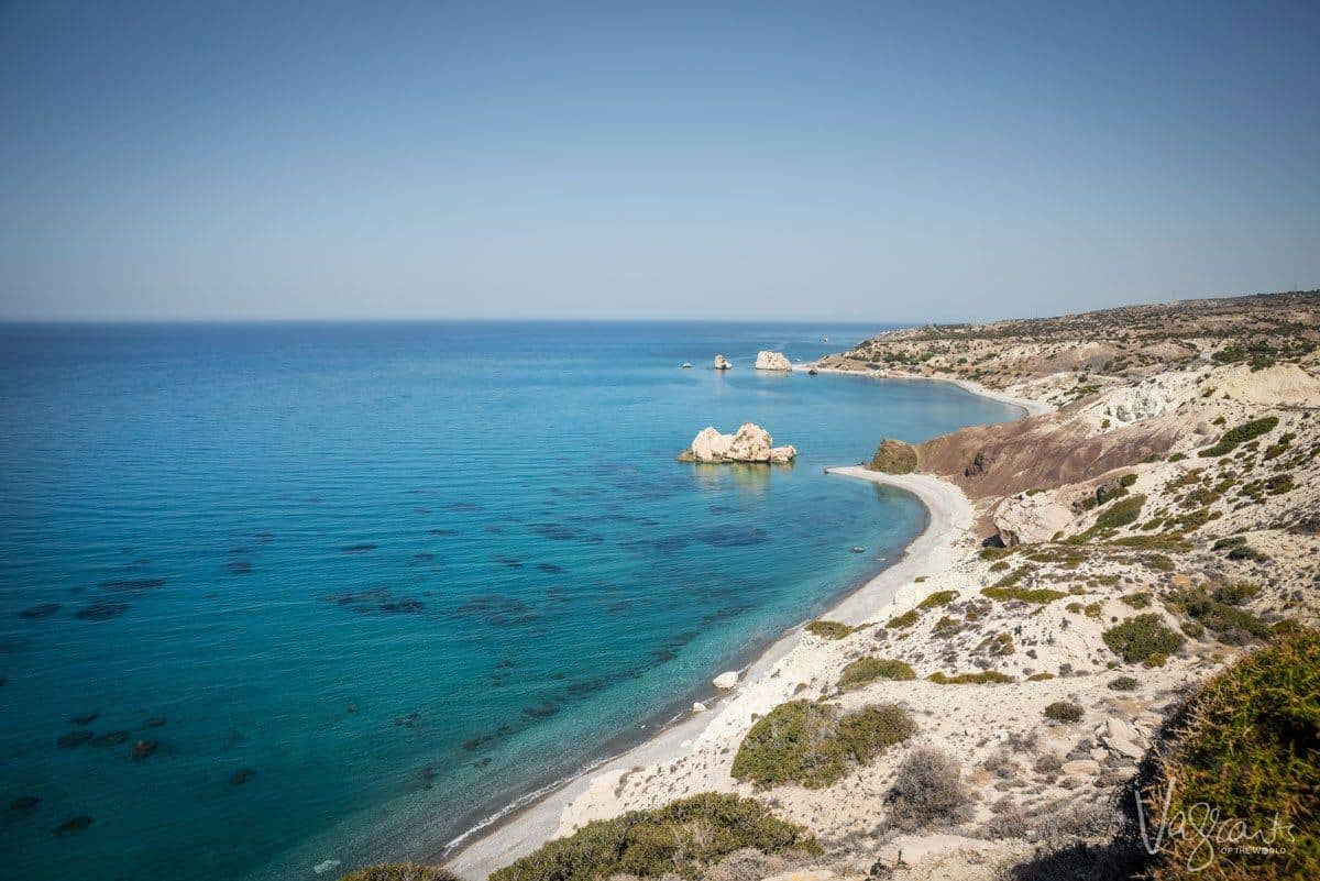 Best beaches in Cyprus - Aphrodite Beach