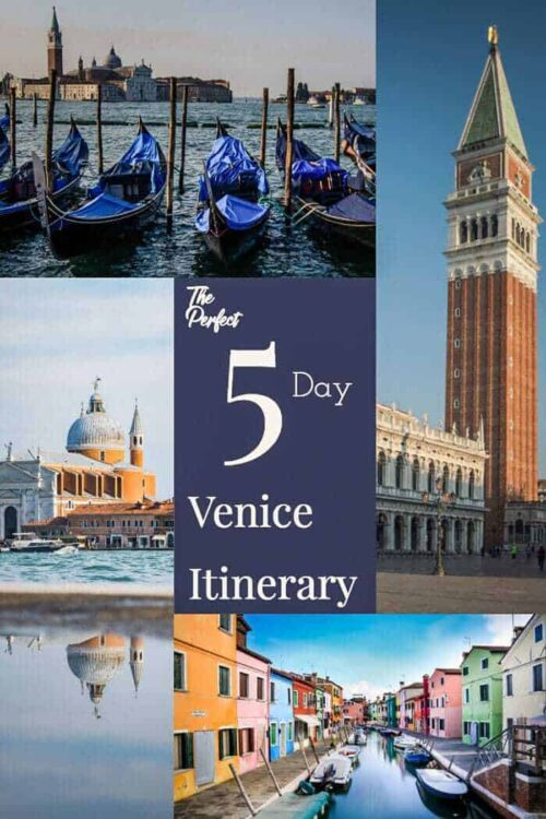 The perfect 5 day Venice itinerary| How to spend 5 days in Venice with day trips from Venice. #venice #itinerary #italy #traveltips