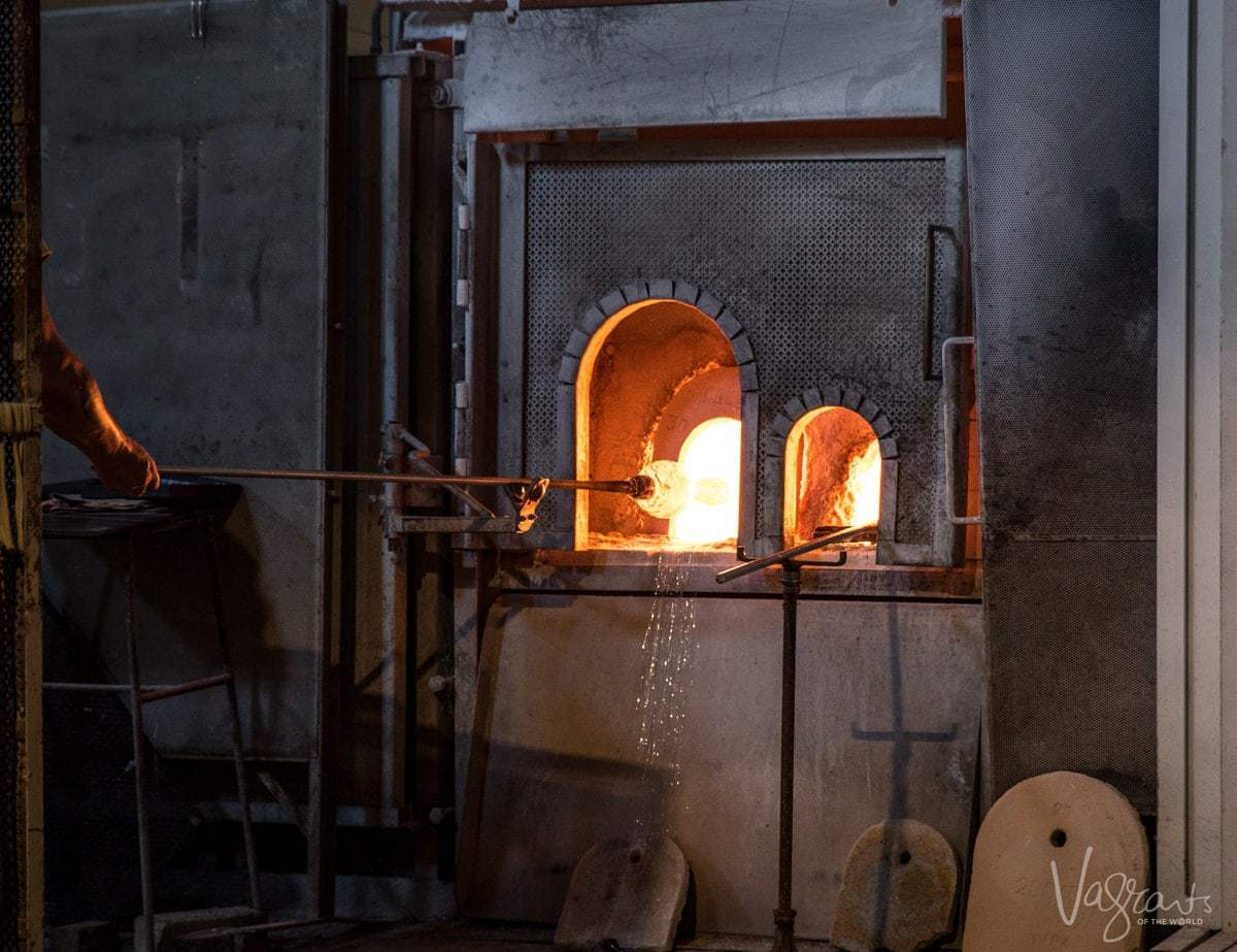 5 Days in Venice - Murano Island Glass Blowing
