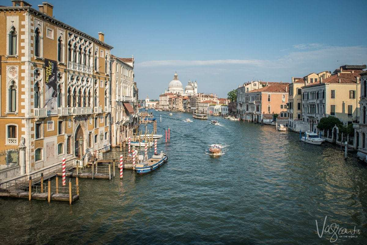 Five day Venice Itinerary - The Grand Canal