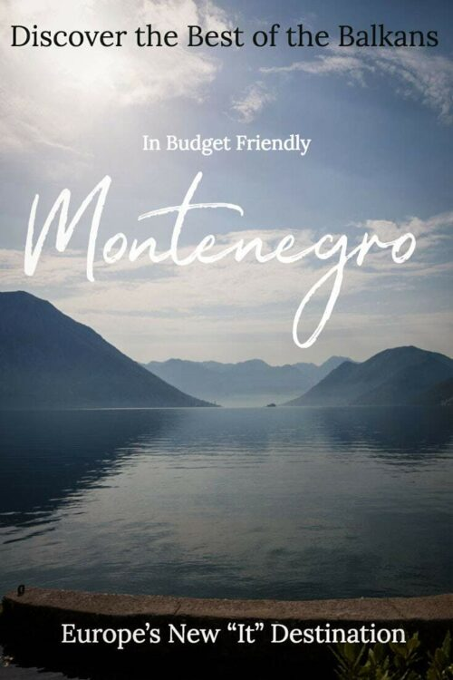 The best things to do in Montenegro - a complete guide | The Best of the Balkans | The best summer destination in Europe #montenegro #balkans #traveltips #kotor