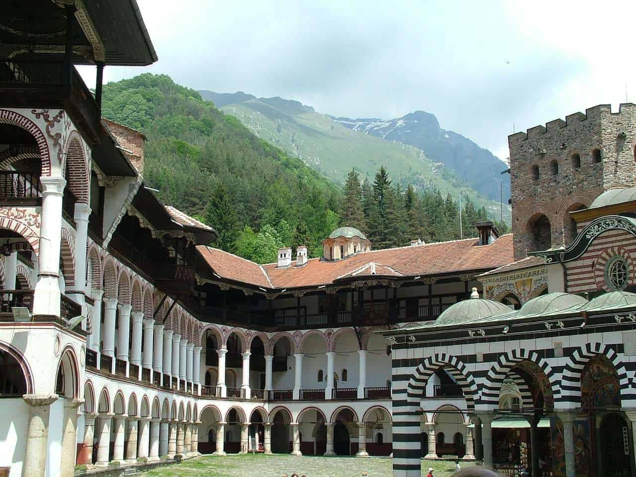 Places to visit in Bulgaria - The Rila Monastery