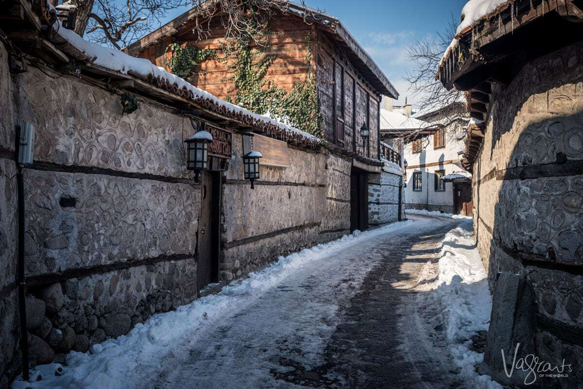 Old town Bansko Bulgaria